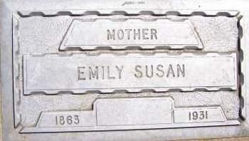 LARKIN, EMILY SUSAN - Bowman County, North Dakota | EMILY SUSAN LARKIN - North Dakota Gravestone Photos
