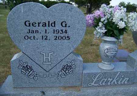 LARKIN, GERALD G. - Bowman County, North Dakota | GERALD G. LARKIN - North Dakota Gravestone Photos