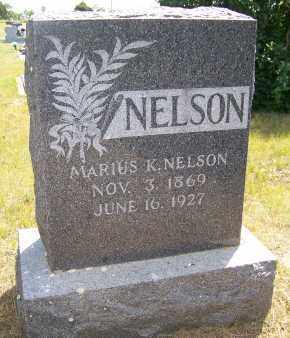 NELSON, MARIUS K. - Bowman County, North Dakota | MARIUS K. NELSON - North Dakota Gravestone Photos