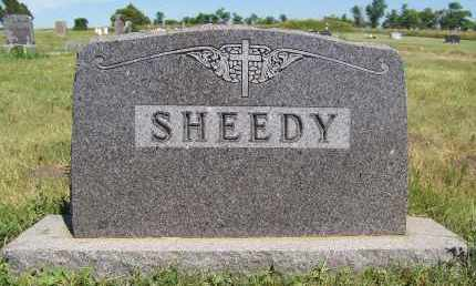 SHEEDY, FAMILY - Bowman County, North Dakota | FAMILY SHEEDY - North Dakota Gravestone Photos
