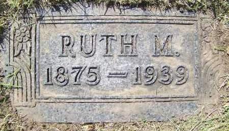 SHEEDY, RUTH M. - Bowman County, North Dakota | RUTH M. SHEEDY - North Dakota Gravestone Photos