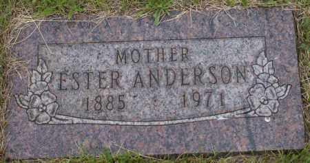 ANDERSON, ESTER - Burke County, North Dakota | ESTER ANDERSON - North Dakota Gravestone Photos