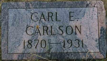CARLSON, CARL E. - Burke County, North Dakota   CARL E. CARLSON - North Dakota Gravestone Photos
