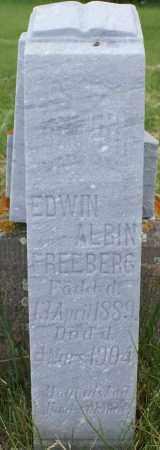 FREEBERG, EDWIN ALBIN - Burke County, North Dakota   EDWIN ALBIN FREEBERG - North Dakota Gravestone Photos