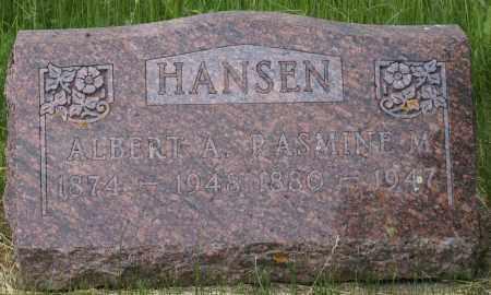 HANSEN, RASMINE M. - Burke County, North Dakota | RASMINE M. HANSEN - North Dakota Gravestone Photos