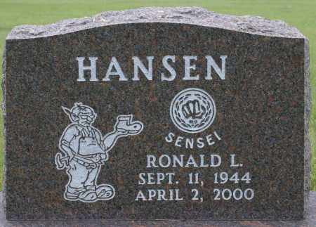 HANSEN, RONALD LESTER - Burke County, North Dakota   RONALD LESTER HANSEN - North Dakota Gravestone Photos