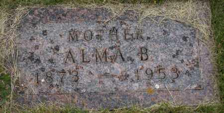 PETERSON, ALMA B. - Burke County, North Dakota | ALMA B. PETERSON - North Dakota Gravestone Photos
