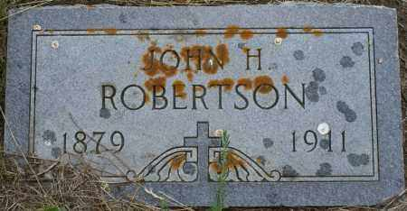 ROBERTSON, JOHN HANS - Burke County, North Dakota | JOHN HANS ROBERTSON - North Dakota Gravestone Photos