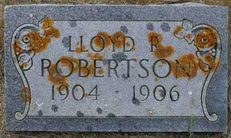 ROBERTSON, LLOYD R. - Burke County, North Dakota | LLOYD R. ROBERTSON - North Dakota Gravestone Photos