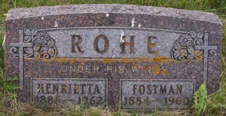 ROHE, ROSTMAN - Burke County, North Dakota | ROSTMAN ROHE - North Dakota Gravestone Photos