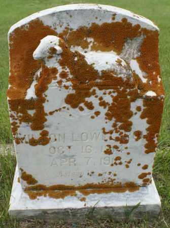 ROHE, MILTON LOWELL - Burke County, North Dakota   MILTON LOWELL ROHE - North Dakota Gravestone Photos