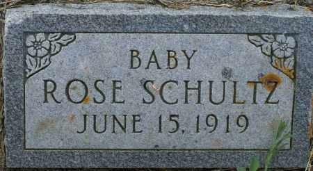 SCHULTZ, ROSE - Burke County, North Dakota | ROSE SCHULTZ - North Dakota Gravestone Photos