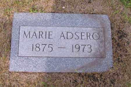 ADSERO, MARIE - Cass County, North Dakota | MARIE ADSERO - North Dakota Gravestone Photos