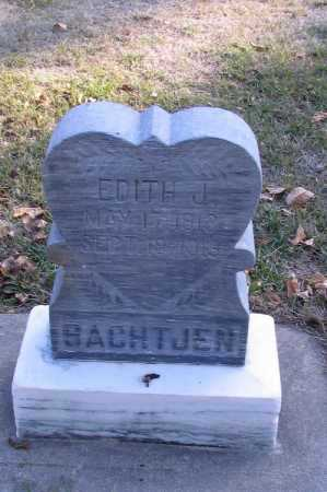 BACHTJEN, EDITH JANE - Cass County, North Dakota   EDITH JANE BACHTJEN - North Dakota Gravestone Photos