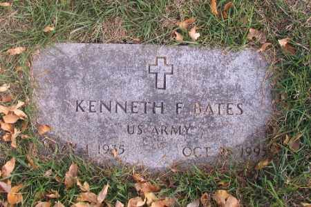 BATES, KENNETH F. - Cass County, North Dakota   KENNETH F. BATES - North Dakota Gravestone Photos