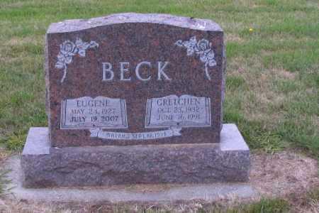 BECK, GRETCHEN - Cass County, North Dakota | GRETCHEN BECK - North Dakota Gravestone Photos