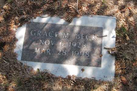 BECK, GRACE M. - Cass County, North Dakota | GRACE M. BECK - North Dakota Gravestone Photos