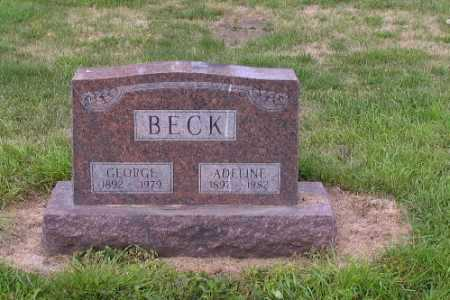 BECK, ADELINE - Cass County, North Dakota | ADELINE BECK - North Dakota Gravestone Photos