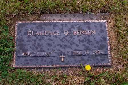 BENSEN, CLARENCE O. - Cass County, North Dakota   CLARENCE O. BENSEN - North Dakota Gravestone Photos