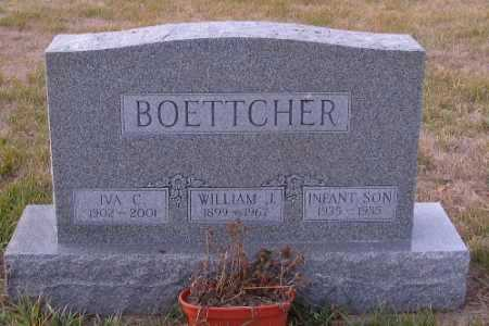 BOETTCHER, IVA C. - Cass County, North Dakota | IVA C. BOETTCHER - North Dakota Gravestone Photos