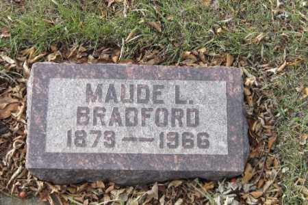 BRADFORD, MAUDE L. - Cass County, North Dakota | MAUDE L. BRADFORD - North Dakota Gravestone Photos