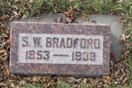 BRADFORD, S. W. - Cass County, North Dakota | S. W. BRADFORD - North Dakota Gravestone Photos