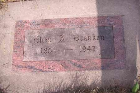 BRAKKEN, ELLEN A. - Cass County, North Dakota   ELLEN A. BRAKKEN - North Dakota Gravestone Photos