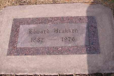 BRAKKEN, EDWARD - Cass County, North Dakota | EDWARD BRAKKEN - North Dakota Gravestone Photos