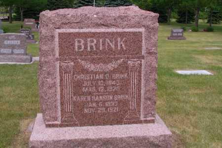 BRINK, CHRISTIAN O. - Cass County, North Dakota | CHRISTIAN O. BRINK - North Dakota Gravestone Photos