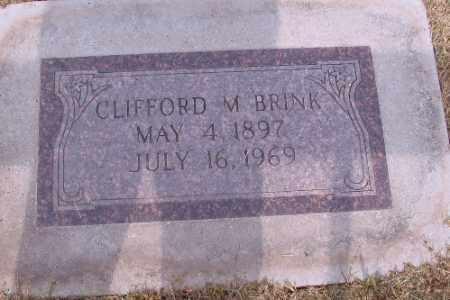 BRINK, CLIFFORD M. - Cass County, North Dakota | CLIFFORD M. BRINK - North Dakota Gravestone Photos