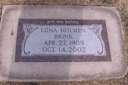 BRINK, EDNA - Cass County, North Dakota | EDNA BRINK - North Dakota Gravestone Photos