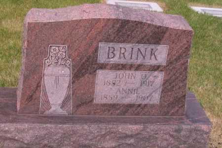 BRINK, JOHN O. - Cass County, North Dakota | JOHN O. BRINK - North Dakota Gravestone Photos