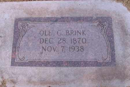 BRINK, OLE C. - Cass County, North Dakota | OLE C. BRINK - North Dakota Gravestone Photos