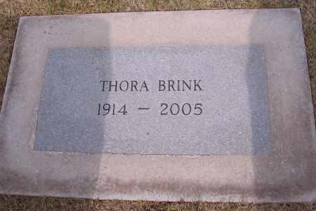 BRINK, THORA - Cass County, North Dakota | THORA BRINK - North Dakota Gravestone Photos