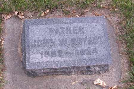 BRYANT, JOHN W. - Cass County, North Dakota   JOHN W. BRYANT - North Dakota Gravestone Photos