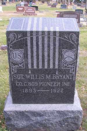 BRYANT, WILLIS - Cass County, North Dakota   WILLIS BRYANT - North Dakota Gravestone Photos