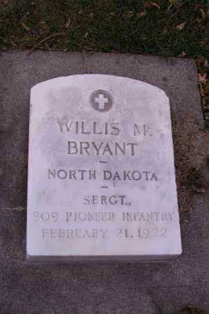 BRYANT, WILLIS M. - Cass County, North Dakota | WILLIS M. BRYANT - North Dakota Gravestone Photos