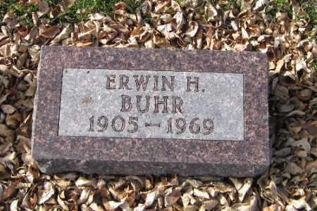 BUHR, ERWIN H. - Cass County, North Dakota   ERWIN H. BUHR - North Dakota Gravestone Photos
