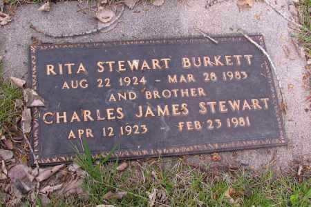 BURKETT, CHARLES JAMES - Cass County, North Dakota | CHARLES JAMES BURKETT - North Dakota Gravestone Photos