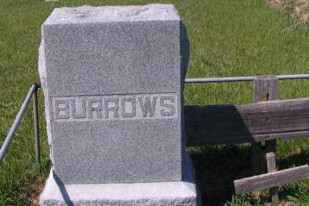 BURROWS, FAMILY MARKER - Cass County, North Dakota   FAMILY MARKER BURROWS - North Dakota Gravestone Photos