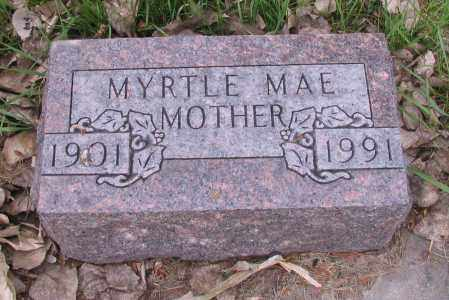 BUZICK, MYRTLE MAE - Cass County, North Dakota | MYRTLE MAE BUZICK - North Dakota Gravestone Photos