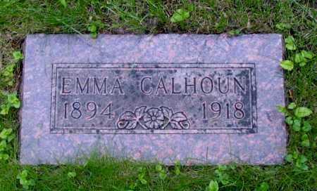 CALHOUN, EMMA - Cass County, North Dakota | EMMA CALHOUN - North Dakota Gravestone Photos