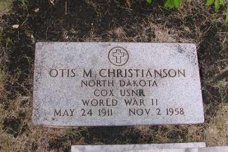 CHRISTIANSON, OTIS M. - Cass County, North Dakota | OTIS M. CHRISTIANSON - North Dakota Gravestone Photos