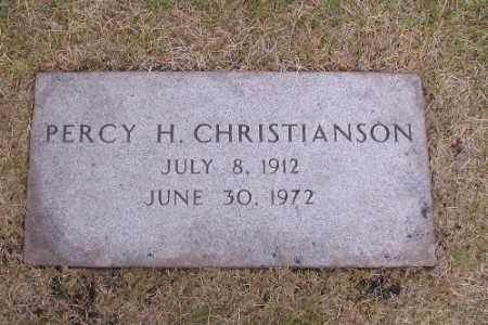 CHRISTIANSON, PERCY H. - Cass County, North Dakota | PERCY H. CHRISTIANSON - North Dakota Gravestone Photos
