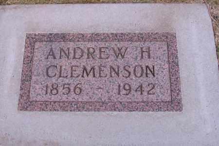 CLEMENSON, ANDREW H. - Cass County, North Dakota | ANDREW H. CLEMENSON - North Dakota Gravestone Photos