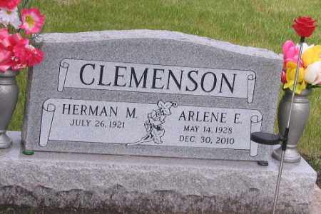 CLEMENSON, ARLENE E. - Cass County, North Dakota | ARLENE E. CLEMENSON - North Dakota Gravestone Photos