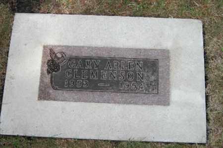 CLEMENSON, GARY ARLEN - Cass County, North Dakota | GARY ARLEN CLEMENSON - North Dakota Gravestone Photos
