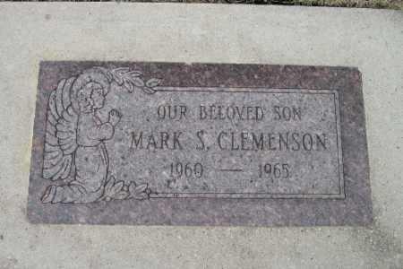 CLEMENSON, MARK S. - Cass County, North Dakota   MARK S. CLEMENSON - North Dakota Gravestone Photos