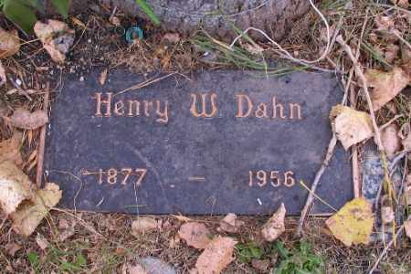 DAHN, HENRY W. - Cass County, North Dakota | HENRY W. DAHN - North Dakota Gravestone Photos