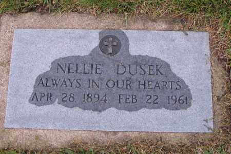 DUSEK, NELLIE - Cass County, North Dakota | NELLIE DUSEK - North Dakota Gravestone Photos